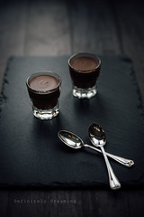 Pots of Chocolate (DefinitelyDreaming) Tags: food foodphotography manchesterfoodphotographer chocolate chocolatepots
