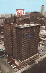 YMCA Hotel - Chicago, Illinois (The Cardboard America Archives) Tags: vintage hotel ymca 1971 xmarksthespot postcard chicago illinois