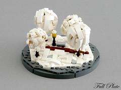 Micro Seasons - Winter (Emil Lid) Tags: lego moc micro season tree winter