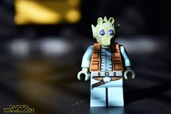 Greedo Portrait (WattyBricks) Tags: lego star wars minifigures episode iv a new hope greedo