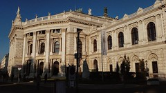 IMG_20161016_005639 (Lets go hand in hand.) Tags: burgtheater wien vienna sunlight sunset sun lights city archi architektur architecture art building historic history europe photography travel