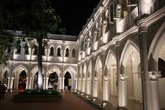 IMG_9999b (11) (AndyMc87) Tags: 28 2470 6d canon bows flowers white bar shoping chijmes singapore singapur asia cathedral church kirche night ilumination architektur gebude light