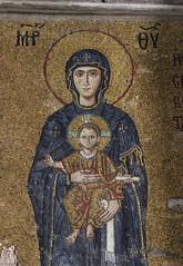 Hagia Sophia mosaic (Wild Chroma) Tags: hagia sophia mosaic hagiasophia istanbul turkey virgin mary christ child virginmary