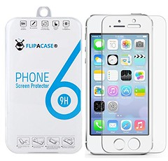 FLIPACASE® Apple iPhone 5 / 5S / 5C Highest Quality Premium Tempered Glass Screen Protector (Release 2013). Ultra Slim 0.33mm Thickness Tempered Glass Screen Protector For The New Apple iPhone 5 / 5S / 5C With 2.5D Rounded Edges & 9H Hardne (paulbulmer) Tags: 033mm 25d 2013 apple cleaning cloth edges flipacase glass hardness highest iphone packed premium protector quality release resistant retail rounded scratch screen shatterproof slim tempered thickness ultra wipe
