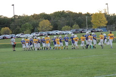 1459 (bubbaonthenet) Tags: 09292016 game stma community 4th grade youth football team 2 5 education tackle 4 blue vs 3 gold