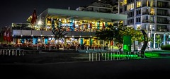 Socialight (Images by Christie  Happy Clicks for) Tags: vancouver bc canada olympicvillage streetphotograpy nightphotography lights nightlights nikon d5200 dslr slr ambience ambiance britishcolumbia bicycle