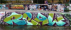 graffiti amsterdam (wojofoto) Tags: amsterdam graffiti streetart nederland netherland holland wojofoto wolfgangjosten ndsm real