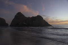Big Sur, Ca (tysonjohnston) Tags: big sur california pch nikon d810 dusk beach ocean forest shore pfeiffer mcway falls