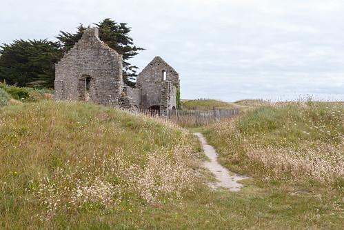 Chapelle Sainte-Anne sur l'Île de Batz