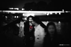 Temptation (anderswotzke) Tags: temptation cosplay costume devil satan satanic death dark evil apple angelofdeath adelaidezombiewalk zombiewalk adelaide southaustralia australia monochrome sony a7rii 85mm 2016