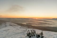 Wschodzące słońce z Babiej Góry (czargor) Tags: mountians landscape sunrise dawn clouds