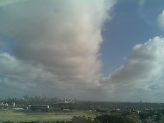 Sydney 2016 Oct 27 08:53 (ccrc_weather) Tags: ccrcweather weatherstation aws unsw kensington sydney australia automatic outdoor sky 2016 oct earlymorning