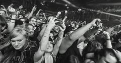Architects (Brian Krijgsman) Tags: architects melkweg amsterdam live concert concertphotography 2016 briankrijgsman nikon d4s iso25600 film grain blackandwhite bw monochrome metal hardcore metalcore british band brighton samcarter dansearle alexedwindean adamchristianson epitaphrecords