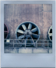 Landschaftspark Duisburg Nord (somekeepsakes) Tags: 2016 colorfilmforsx70 lapadu landschaftsparkduisburgnord roidweek2016 ruhrgebiet sx70 tip analog analogue day5 deutschland duisburg europa europe film germany impossible industriekultur instant polaroid silverframe sofortbild theimpossibleproject