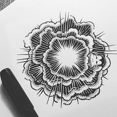 Splosion 1 (Don Moyer) Tags: ink drawing sketchbook moyer donmoyer brushpen
