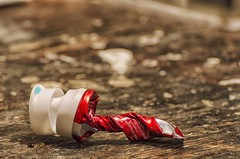 Desperation (Paul B0udreau) Tags: toothpaste tube