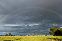Rainbow - Arc en Ciel 2016 (benoit871) Tags: 2016 arc arcenciel ciel cloud estaires france nord nuage octobre octobre2016 orage rainbow storm