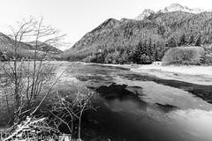 NT2.0403-NC160102_162275 (LDELD) Tags: rockport washington unitedstates us northcascades highway20 lakediablo winter snow dusk mountains skagitriver lake