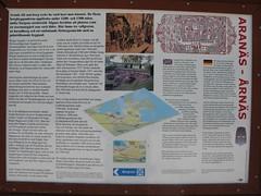Informationstavla vid Arans borgruin 2010 (2) (biketommy999) Tags: biketommy biketommy999 sverige 2010 kulturminne arans arn vstragtaland ruin borg sweden