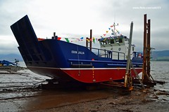 The Launch of Erin Julia (Zak355) Tags: scotland clyde boat ship craft vessel launch boatyard boatbuilding fishfarm rothesay newbuild workboat isleofbute ardmaleish thescottishsalmoncompany erinjulia