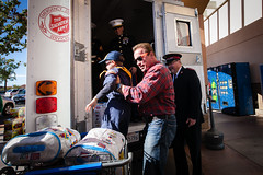 Wal-Mart Fill The Truck 2014 (Salvation Army USA West) Tags: christmas kids toy toys corporate kid marine walmart marines officer arnoldschwarzenegger