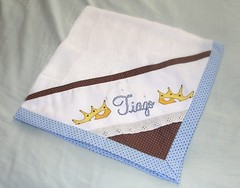 Tiago (Amenduan * Patchwork & Crafts) Tags: cruz bebê kit ponto tecido bordado aplicação fralda