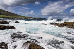 Kerry Coastline (Daniel_Mu) Tags: ireland sea wave coastline breakingwave valentia
