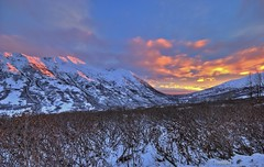 Ridge View (jack4pics) Tags: sunset alaska sundown ridge hatcherspass akroseridge