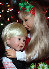 Masterpiece Dolls Sabrina and Jake (thedollydreamer) Tags: life christmas sabrina dolls like hugs realistic poldi monikalevenig masterpiecedolls thedollydreamer bridgetdellaero