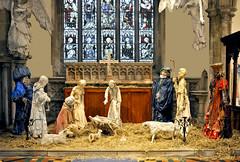 The Nativity (Dreamsmitten) Tags: birthday baby animals joseph three sheep shepherd mary birth straw celebration angels crib manger lambs babyjesus wisemen thenativity
