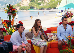Programa Hoy desde playa La Ropa Zihuatanejo