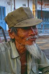Saigon, old man (blauepics) Tags: road street old city p