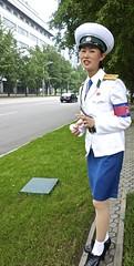 Traffic Police in North Korea (EleanorGiul ~ http://thevelvetrocket.com/) Tags: asia northkorea pyongyang dprk coreadelnorte trafficpolice nordkorea 北朝鲜 북한 北朝鮮 coréedunord coreadelnord justinames севернаякорея coréiadonorte visitnorthkorea httpthevelvetrocketcom eleonoragiuliani eleonoraames