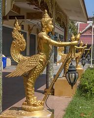 Wat Songtham Kinaree (DTHSP0152)   (Gerry Gantt Photography) Tags: thailand temple wat talat samutprakan  phrapradaeng    totallythailand thailand samutprakan samutprakan  talatphrapradaeng talatphrapradaeng watsongthamworawihan watsongdhamworawihan
