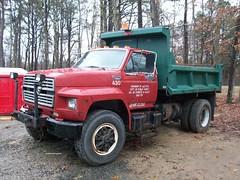 Township of Jackson, NJ 1995 Ford F-800 dump-plow No. 430_1 (JMK40) Tags: ford truck allison town nj dumptruck dump jackson government plow cummins municipal township 59 highwaydepartment f800
