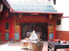 A Chinese Temple in Semarang