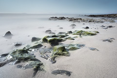 Stoney Beach In Lanzarote (Jigsaw-Photography-UK) Tags: blue sea seascape green beach big sand rocks lanzarote playa blanca lee filters stopper