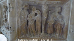 2012 Jul 15 Salle 15c 7-Sacrament font, Crucifixion (dalevreed) Tags: england2012