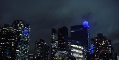 (eflon) Tags: city nyc blue ny newyork skyline night cityscape stitch manhattan overcast midtown pan tones bldgs