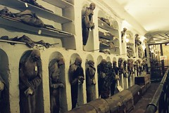 (Carla Andrea Tamara Tonesi) Tags: summer italy cemetery italia monks sicily palermo sicilia 2014 crypts sicile embalmed catacombedeicappuccini rosalialombardo catacombsofthecapuchins capuchincatacombsofpalermo