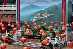 highway to heaven lynnekelman 2015 128 (lynnekelman) Tags: new old art highway heaven year religion fine chinese temples lanterns impression buddhisttemplerichmond2015