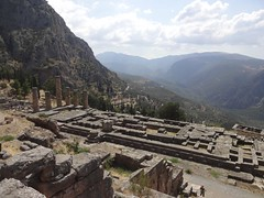Delphi, Greece. (ioannis_papachristos) Tags: archeology archaeology history scenery landscape light oracle apollo shrine temple antiquity sunlight august greece delphi photostream