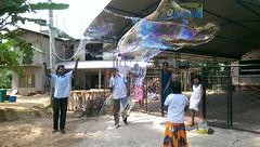 Seifenblasen in Behinderteneinrichtung in Ittapana, Sri Lanka 6