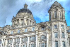 Port of Liverpool Building (Kev Walker ¦ From Manchester) Tags: england liverpool dock kevin ships walker hdr mersey albertdock merseyside