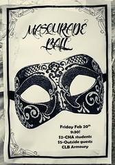Masquerade Ball ... ; (c)rebfoto (rebfoto) Tags: balmasqué rebfoto masqueradeballnotice noticeofevent