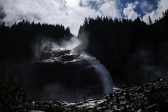 Krimml / Tirol (10) / Austria [Explore 06-02-15] (Ull mgic) Tags: naturaleza alps nature austria tirol waterfall fuji cel natura paisaje cielo nubes aigua cascada bosc riu paisatge nvols krimml xt1 landscapa