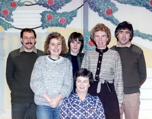 1985 Goody Two Shoes 05 (Brian Barber, Leslie Ansell, Darren Turton, Jean Peace, Isobel Bickerstaff, Tony Carr)