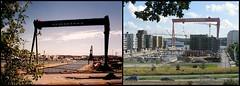 1992 och 20120803 Eriksbergskranen jämförelsebild (biketommy999) Tags: hisingen göteborg 1992 jämförelsebild 2012 biketommy biketommy999 sverige sweden