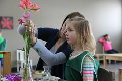 Flower Arranging (Baan Dek) Tags: nonfeature noninstagram flower arranging teacher primary presentation care environment life of beauty