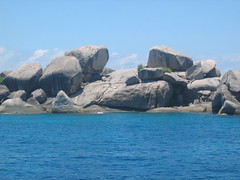 Rocks and Water of the Andaman
